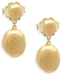 Marco Bicego - 18k Yellow Gold Drop Earrings - Lyst