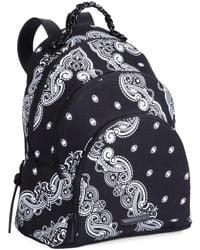 Kendall + Kylie - Sloane Bandana Canvas Backpack - Lyst