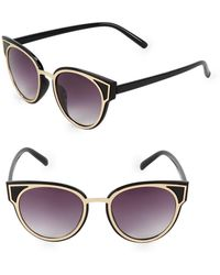 Fantaseyes - 50mm Round Sunglasses - Lyst