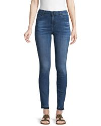 J Brand - Maria High-rise Skinny-fit Jeans - Lyst