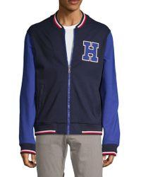 Tommy Hilfiger - Colorblocked Varsity Jacket - Lyst