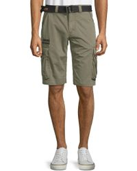 Affliction - Loose-fit Cotton Cargo Shorts - Lyst