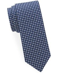 Saks Fifth Avenue - Mixed-print Silk Tie - Lyst