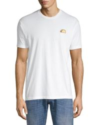 Riot Society - Embroidered Short-sleeve Tee - Lyst