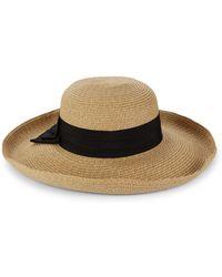 Gottex - Vesper Bow Straw Sun Hat - Lyst
