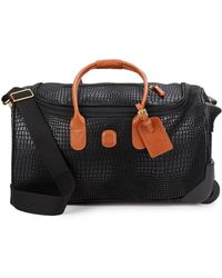 """Bric's - My Safari 21"""" Carry-on Rolling Duffle - Lyst"""
