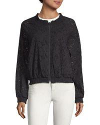 Sanctuary - In Bloom Cotton Cutwork Jacket - Lyst