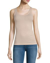 Skin Organic - Cotton Slim Tank Top - Lyst
