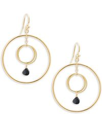 Chan Luu - Spinel Gem Hoop Earrings - Lyst