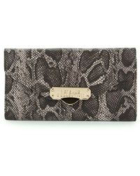 Versace - Leather Continental Wallet - Lyst