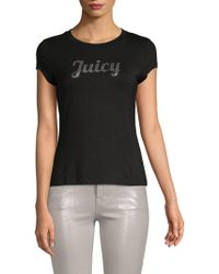 Juicy Couture - Logo Boatneck Top - Lyst