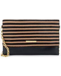 Frances Valentine - Striped Leather Shoulder Bag - Lyst