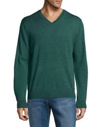 Saks Fifth Avenue - V-neck Wool Jumper - Lyst