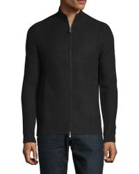 Saks Fifth Avenue - Zip-up Cashmere Cardigan - Lyst