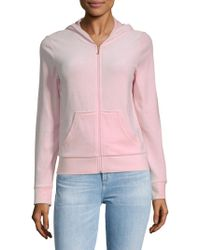 Juicy Couture - Robertson Velour Zippered Jacket - Lyst
