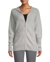 Saks Fifth Avenue - Cashmere Hoodie - Lyst