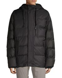 Andrew Marc - Groton Hooded Down Puffer Jacket - Lyst