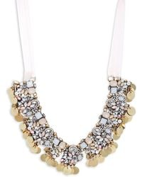 Saks Fifth Avenue | Crystal Statement Necklace | Lyst