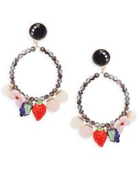 Natasha Couture - Shaky Fruit Drop Earrings - Lyst