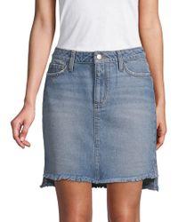 Joe's Jeans - Vivien High-low Denim Skirt - Lyst
