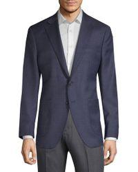 Saks Fifth Avenue - Textured Wool & Silk Suit Jacket - Lyst