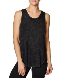 Betsey Johnson - Back Criss-cross Tank Top - Lyst