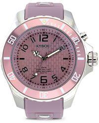 Kyboe - Summer Series Stainless Steel Strap Watch - Lyst