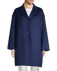 Lafayette 148 New York - Cambrie Cashmere Coat - Lyst