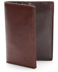Will Leather Goods - Leather Card Case - Lyst