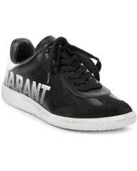 Isabel Marant Graphic Leather Trainers