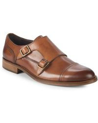 Bruno Magli - Sasso Double Monk-strap Leather Dress Shoes - Lyst