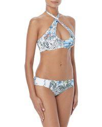 Vince Camuto - Cross-front Halter Bikini Top - Lyst