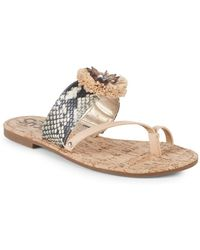 Circus by Sam Edelman - Barbara Embellished Sandals - Lyst