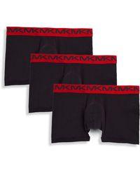 Michael Kors - Three-pack Performance Cotton Trunks - Lyst
