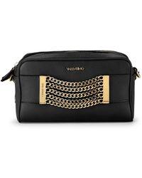 Valentino By Mario Valentino - Mila Chain Leather Box Shoulder Bag - Lyst