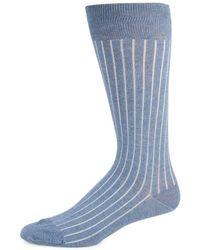Saks Fifth Avenue - Striped Stretch Socks - Lyst