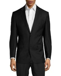 Versace - Classic-fit Solid Twill Sport Coat - Lyst