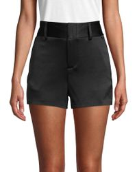 Alice + Olivia - Cady High-waisted Shorts - Lyst