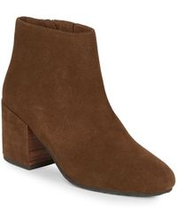 Gentle Souls - Blaise Suede Ankle Boots - Lyst