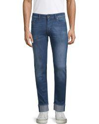 05fda96e DIESEL Sleenker 0673e Skinny Fit Jeans Blue in Blue for Men - Lyst