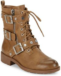 Charles David - Caden Combat Boot - Lyst