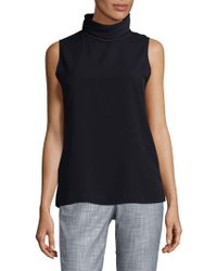 French Connection - Polly Turtleneck Top - Lyst