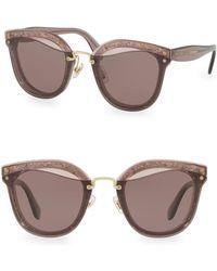 Rag & Bone - Injected Women's 65mm Irregular Sunglasses - Lyst