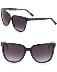 Ted Baker - 57mm Square Sunglasses - Lyst