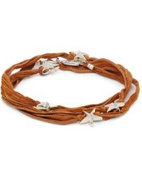 King Baby Studio - Star Wrap Bracelet - Lyst