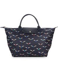 Longchamp - Le Pliage Chevaux Ailes Nylon Top Handle Bag - Lyst