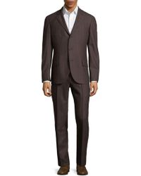 Brunello Cucinelli - Stripe Suit - Lyst