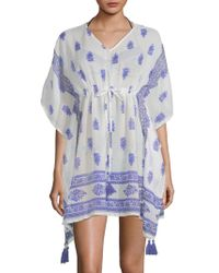 Beach Lunch Lounge - Printed Cover-up Dress - Lyst
