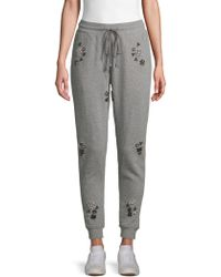 Hemant & Nandita - Embellished Cotton Jogger Pants - Lyst