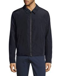 Pal Zileri - Full-zip Collared Jacket - Lyst